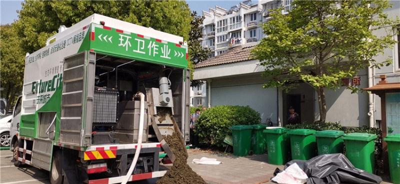 粪便环保移动脱水车 粪便固液分离吸粪车