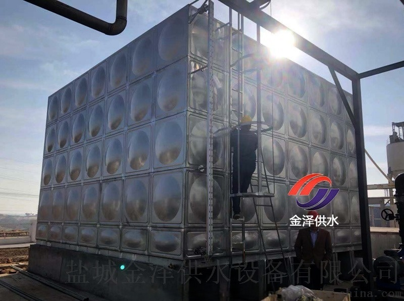 江蘇消防不鏽鋼水箱安裝方案