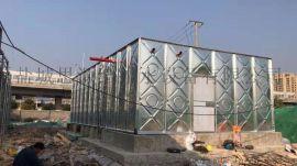 BDF装配式箱泵一体化大模块抗浮水箱施工方案