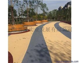 云南透水混凝土外加剂昆明,彩色压花地坪材料施工