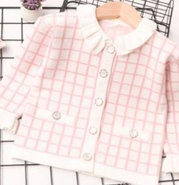 婴童外套毛衣女童新款开衫童装毛衣厂家直销批发