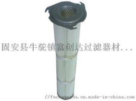 空调三耳卡盘除尘滤芯制冷行业粉尘滤筒