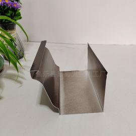铝合金天沟雨水槽源头厂家 彩铝落水系统