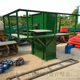 输送机厂家斗式提升机 钢丝绳芯胶带斗提机 六九重工