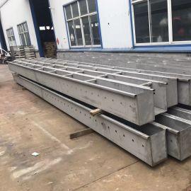 南通厂家定制不锈钢集水槽 三角溢流堰稳定耐用