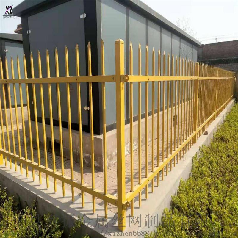 方管围墙护栏@汉口管制围墙护栏@方管锌钢护栏配货