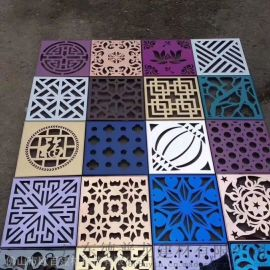 广西3D冲孔铝单板  幕墙装饰3D艺术冲孔板