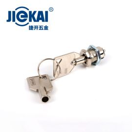 JK008 鑰匙開關鎖 開孔12mm  數控面板鎖