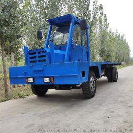 5吨中间驾驶平板车 工程拉钢筋自卸车 四不像平板车