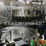 厂家直销自动碳酸饮料灌装机 三合一碳酸饮料果汁机械
