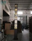 黑色烤漆方形燈古鎮定製3米不鏽鋼景觀燈庭院道路燈