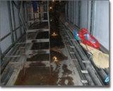 丹東市電梯井伸縮縫滲漏水補漏施工