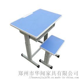 郑州市本地出售课桌椅单人桌椅 书桌