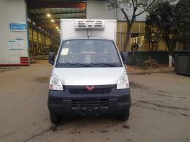 国六柳州五菱汽油单排座蓝牌冷藏车