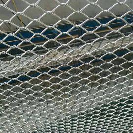 煤矿窝边铁丝网 亚奇6*6cm假顶支护勾花网