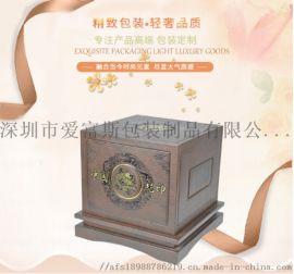 棕色礼品盒定做 方形立体工艺包装礼品盒 简约传统礼品盒定制批发