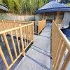 溫泉區仿木紋竹子護欄 古鎮仿古木紋竹管護欄