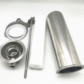 管道前置过滤器-工业304不锈钢快装式拉杆油水分离