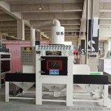 中山自动喷砂机, 输送式自动喷砂机