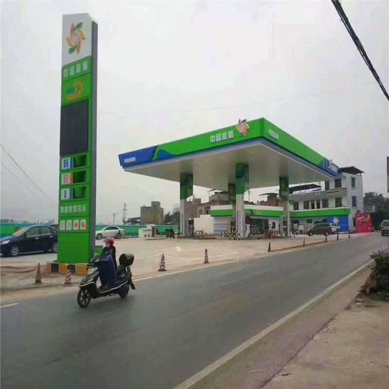 加油站立柱铝单板 造型立柱铝单板包柱定制