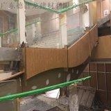 韶关雷克室内仿木纹铝单板,室外木纹铝单板项目案例