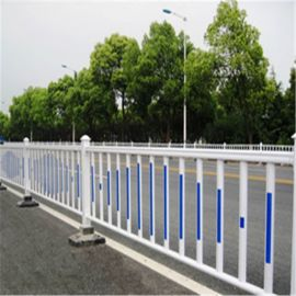 市政交通锌钢安全围栏公路中央护栏网 市政道路隔离护栏