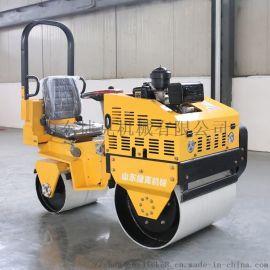 捷克 1吨小型座驾压路机 压实力3吨全液压压实机