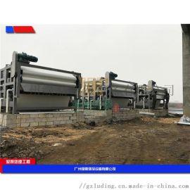 污泥浓缩带式脱水一体机,厂家泥浆水污水分离处理设备