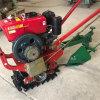小型链轨式培土机,独轮单履带培土机