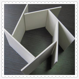 耐酸碱PVC板河北厂家 微发泡PVC板 耐磨塑料板