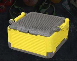 环保EPP材质48L保温折叠箱