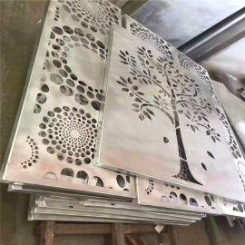 珠宝店背景墙雕花铝单板 银饰店门头雕花铝单板