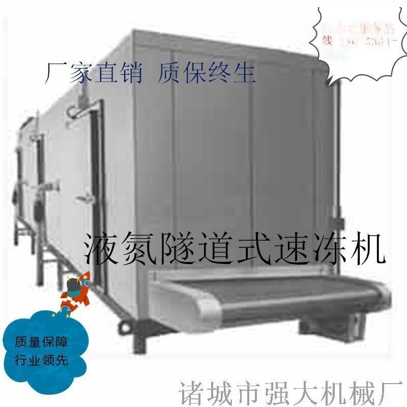 强大榴莲速冻机 低温隧道式速冻设备