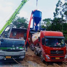 化工车间粉末倒运用气力输送机40吨输送量气力吸灰机