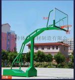 河南客户定制的凹箱篮球架