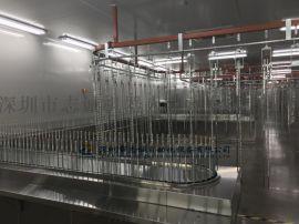 温州自动喷油拉 自动喷漆设备 喷涂流水线