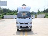 國六東風途逸3方小型勾臂式垃圾車