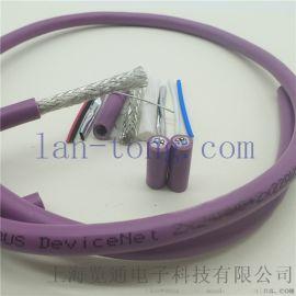 dnet伺服变频器CANopen通信总线电缆