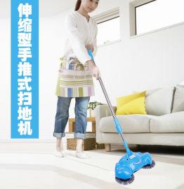 跑江湖地摊手推式扫地机好做吗
