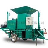 玉米秸稈黃儲機 黃紙板打包機 秸稈液壓打包機廠家