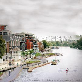 游艇码头俱乐部平台 码头平台 水上桥梁 工程建造