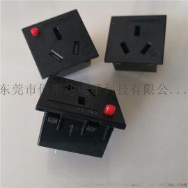 佰斯达生产防脱国标电源插座  中式电源母座