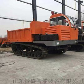 加工定制各种型号灵活操作机械橡胶履带式运输车