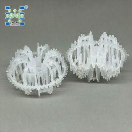 塑料皇冠花环 泰勒花环 梅花环填料 塑料散堆填料
