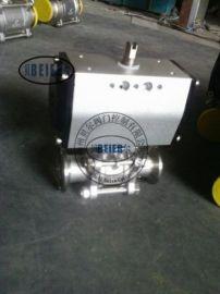 流量控制Q641F-16C DN100鑄鋼氣動球閥