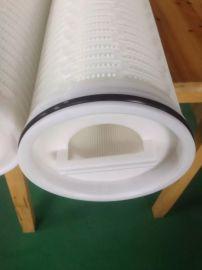 聚丙烯大流量折叠滤芯厂家 液压油滤芯