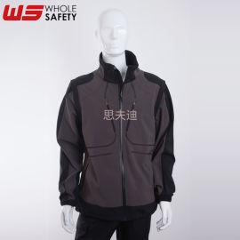 防風軟殼夾克可定制 防風保暖夾克