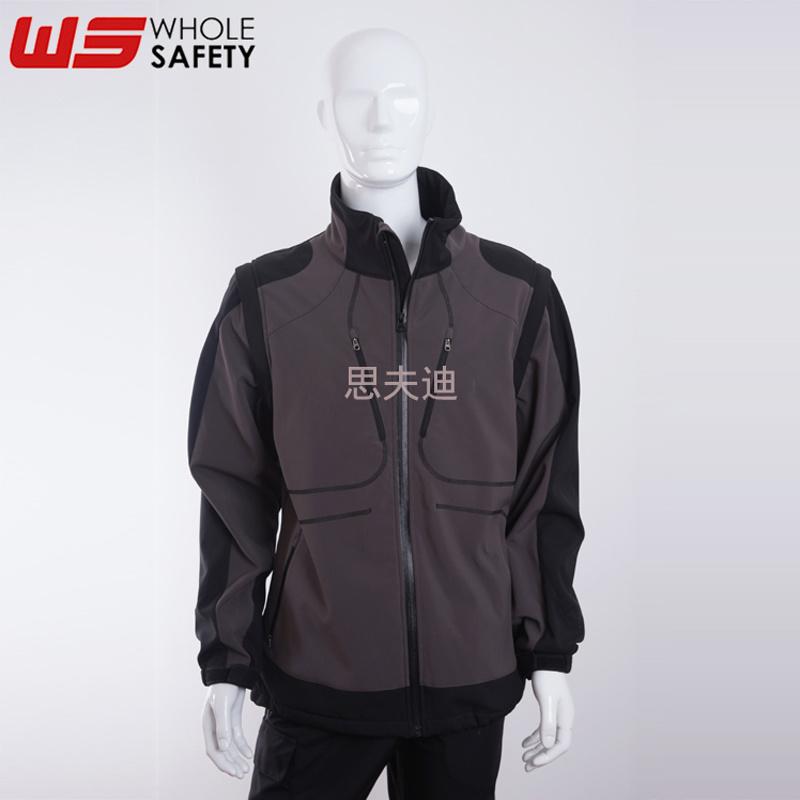 防风软壳夹克可定制 防风保暖夹克