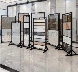 瓷砖展示架 架子 木地板展架 吊顶旋转板展架定制