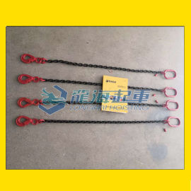 单腿链条成套索具厂家, 高品质合金钢造